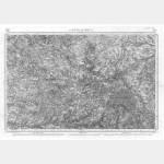 Carte de l'état-major  - Feuille 133 CHATEAUROUX - Taille Douce