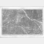 Carte de l'état-major  - Feuille 135 ST-PIERRE - Taille Douce