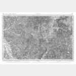 Carte de l'état-major  - Feuille 136 AUTUN - Taille Douce