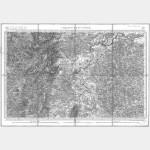 Carte de l'état-major  - Feuille 137 CHALON-SUR-SAONE - Taille Douce