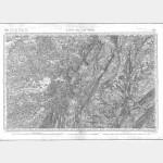 Carte de l'état-major  - Feuille 138 LONS-LE-SAUNIER - Taille Douce