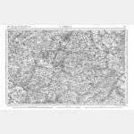 Carte de l'état-major  - Feuille 13 CAMBRAI - Taille Douce