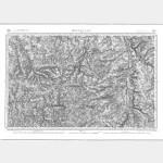 Carte de l'état-major  - Feuille 145 MONTLUCON - Taille Douce