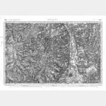 Carte de l'état-major  - Feuille 146 MOULINS - Taille Douce