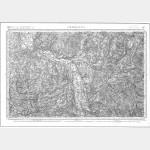 Carte de l'état-major  - Feuille 147 CHAROLLES - Taille Douce