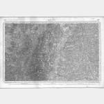 Carte de l'état-major  - Feuille 148 MACON - Taille Douce