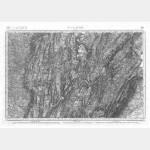 Carte de l'état-major  - Feuille 149 ST-CLAUDE - Taille Douce