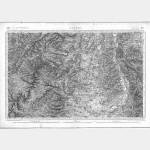 Carte de l'état-major  - Feuille 157 GANNAT - Taille Douce