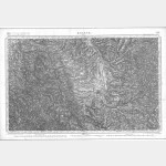 Carte de l'état-major  - Feuille 158 ROANNE - Taille Douce