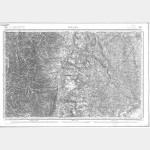 Carte de l'état-major  - Feuille 159 BOURG - Taille Douce
