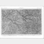Carte de l'état-major  - Feuille 164 LIMOGES - Taille Douce