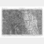 Carte de l'état-major  - Feuille 167 MONTBRISON - Taille Douce