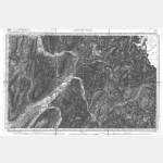 Carte de l'état-major  - Feuille 169 Bis ALBERTVILLE - Taille Douce