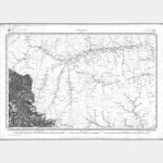 Carte de l'état-major  - Feuille 169 Ter TIGNES - Taille Douce