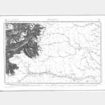 Carte de l'état-major  - Feuille 179 Bis BONNEVAL - Taille Douce