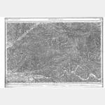 Carte de l'état-major  - Feuille 182 BERGERAC - Taille Douce