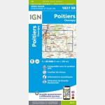 1827SB - Poitiers / Chauvigny - Recto