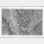 Carte de l'état-major  - Feuille 186 LE PUY - Taille Douce
