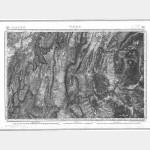 Carte de l'état-major  - Feuille 188 VIZILLE - Taille Douce
