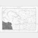 Carte de l'état-major  - Feuille 190 AIGUILLES - Taille Douce