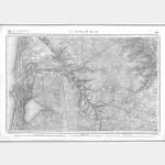 Carte de l'état-major  - Feuille 191 la TESTE-DE-BUCH - Taille Douce