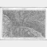 Carte de l'état-major  - Feuille 192 la REOLE - Taille Douce