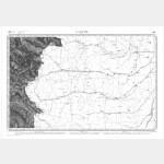 Carte de l'état-major  - Feuille 201 LARCHE - Taille Douce