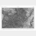 Carte de l'état-major  - Feuille 209 ALES - Taille Douce