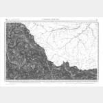 Carte de l'état-major  - Feuille 213 ST-MARTIN-DE-VESUBIE - Taille Douce