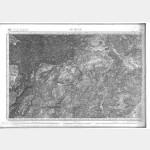 Carte de l'état-major  - Feuille 221 LE VIGAN - Taille Douce