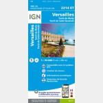 2214ET - Versailles/Forêts de Marly et de Saint-Germain - recto