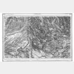 Carte de l'état-major  - Feuille 224 CASTELLANE - Taille Douce