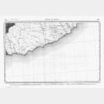 Carte de l'état-major  - Feuille 225 Bis PONT-ST-LOUIS (vendue avec la 213 Bis SAORG
