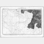Carte de l'état-major  - Feuille 238 ST-JEAN-PIED-DE-PORT - Taille Douce