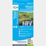 2534OT - Monts du Cezallier/PNR des Volcans d'Auvergne - recto
