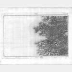 Carte de l'état-major  - Feuille 262 VICO - Taille Douce