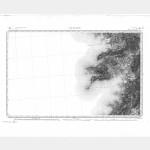 Carte de l'état-major  - Feuille 264 AJACCIO - Taille Douce