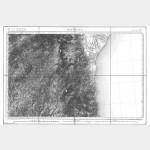 Carte de l'état-major  - Feuille 265 BASTELICA - Taille Douce