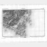 Carte de l'état-major  - Feuille 267 SARTENE - Taille Douce