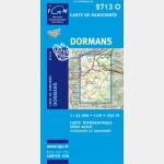 Série Bleue IGN - Dormans - Recto
