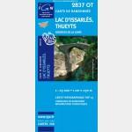 Lac d'Issarles/Thueyts/Sources de la Loire (Gps)