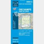 Orchamps/Forêt de Chaux (Gps)