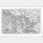 Carte de l'état-major  - Feuille 32 BEAUVAIS - Taille Douce