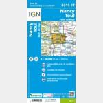 3315ET Recto / Nancy - Toul - Forêt de Haye