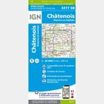 3317SB Recto - Châtenois - Rouvres-en-Xaintois