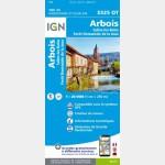 3325OT - Arbois/Salins-Les-Bains/Forêt Domaniale de la Joux