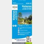 3339OT Recto / Sisteron - Laragne - Monteglin - Montagne de Chabre
