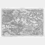 Carte de l'état-major  - Feuille 33 SOISSONS - Taille Douce