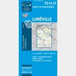 Série Bleue IGN - Luneville - Recto