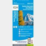 3531ET Recto / Saint-Gervais-les-Bains - Massif du Mont-Blanc